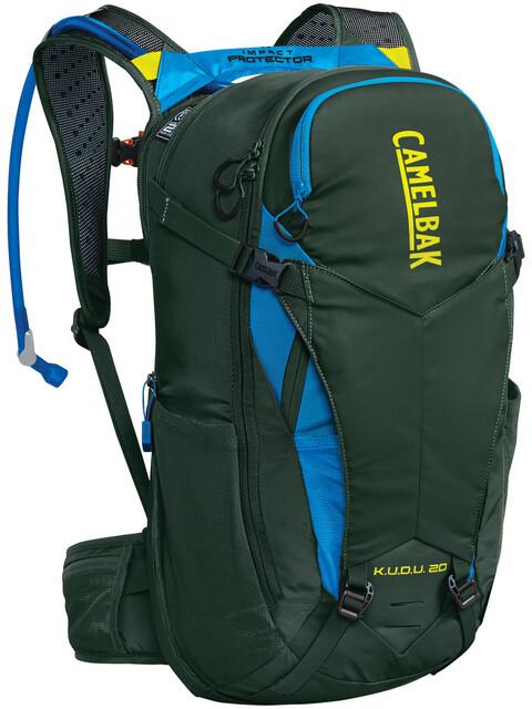 CamelBak K.U.D.U. Protector 20 Backpack dry deep forest/brilliant blue